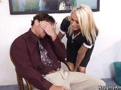 Блондинке парниша предложил в рот, ну, а она не отказала